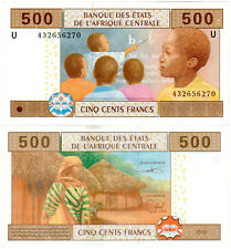Cameroon 500 Francs P#206Ud (2002) Banque des États de l'Afrique Centrale AUNC
