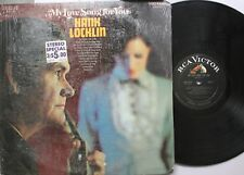 Country Lp Hank Locklin My Love Song For You On Rca