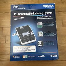 New Brother P Touch Pt 2730 Thermal Printer Pc Connectable Label Maker M0801c