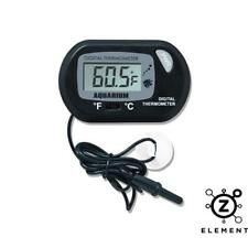 LCD DIGITAL FISH AQUARIUM WATER TANK THERMOMETER NEW Terrarium EU SELLER