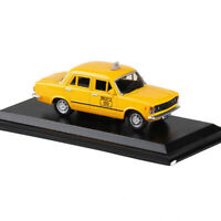 1:43 Static 1980 Vintage Fiat 125P Varsavia Taxi Model Car Diecast Collection