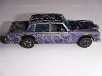 Ultra Rare Purple, 1969 Hot Wheels Redline Custom Rolls Royce Silver Shadow