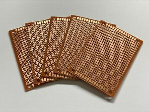 5X Lochraster Platine Lötplatine 5X7CM 50X70MM für Prototypen PCB Leiterplatte