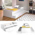 Kojenbett Jugendbett mit Gästeliege Funktionsbett Enzo weiß 90x200 cm Vitalispa günstig