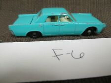 VINTAGE MATCHBOX LESNEY #31 LINCOLN CONTINENTAL GREEN  (F5)
