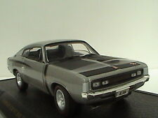 VALIANT CHARGER BIG TANK E38 R/T 1:32 SCALE LIMITED EDITION 1 OF 2500 SILVER