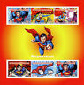 Central African Rep 2015 MNH Superman 6v M/S Cartoons Comics Superheroes Stamps