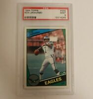 1984 Topps #330 Ron Jaworski PSA 9 MINT Philadelphia Eagles