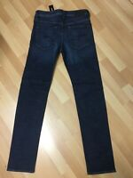 NWD Mens Diesel BUSTER SMOOTH Stretch Hard Denim 084NL DARK BLUE Slim W29 L32 H6