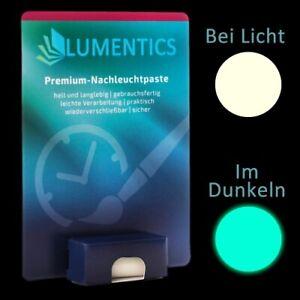 Uhrenzeigerfarbe Natur-BlauGrün - Feine Leuchtpaste