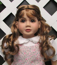 "Doll Wig, Monique ""Lexy"" Size 6/7 in Ginger Brown"