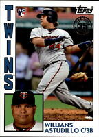 2019 Topps Series 2 1984 Topps Rookie Insert #84R-WA WILLIANS ASTUDILLO Twins