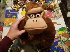 ULTRA RARE 1999 Takara Donkey Kong Country Plush Toy Doll Figure Nintendo Mario