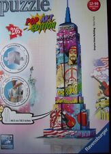 Ravensburger 3D-Puzzle 12599 - POP ART édition, Empire State Building