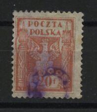 Polen 1919 Provisorio Stempel -Unbekannt!!