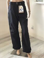 NWT COLUMBIA womens Convert Velocity Tempest Dial Black Snowboard Pants Small 4