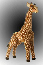 "Acacia 31"" Jungle Giraffe by Aurora Stuffed Animal NEW with Tags"