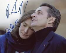 Nicolas Sarkozy & Carla Bruni + + Autograph + + Franz presidente.