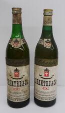 Kellerfund - Alte Flasche Chantre 2 Stück 0,7liter 50er 60er Jahre verschlossen