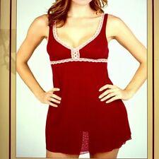 Italian Rouge Red Cosabella Nelli Babydoll Chemise Size Large - NWT