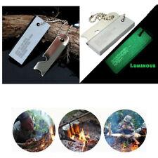 Portable Camping Magnesium Flint Lighter Stick Fire Starter Outdoor Tool US