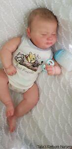 "4 MONTH OLD REBORN BABY BOY ""GRUMPY SAGE"" NEW RELEASE~ Talia's Reborn Nursery~"