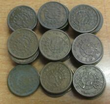PORTUGUESE ANGOLA LOT OF 50 COINS X 50 CENTAVOS KM 75