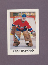 1987-88 OPC Hockey Mini Brian Hayward #15 Goalie Montreal Canadiens NM/MT