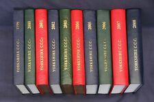 New listing Yorkshire Cricket Club Year Books. ( 1999-2008 )  Lot 5