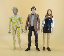 """lot of 3 Doctor Who THE 11th ELEVENTH DOCTOR Amy Pond HUMANOID AXON figure 5.5"""""""