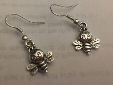 Lady Bug Charm Earrings Bumble Bee Charm Bee Charm Earrings
