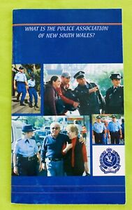 Vintage: Police Association Of NSW Information Booklet (2002). 28 Pages Like New