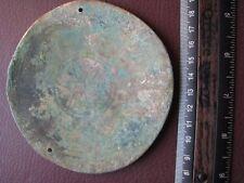 Authentic Ancient Sarmatian Artifact > Bronze Mirror RJ 38