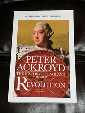 PETER ACKROYD REVOLUTION The History of England - Volume IV NEW ARC