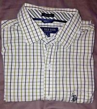 U.S Polo Assn. Mens Long Sleeve Button-Up Dress Shirt size L Relaxed