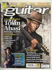 GUITAR MAGAZINE 2013/9 NR. 160 - TOSIN ABASI SAXON JASON NEWSTED INCL. CD
