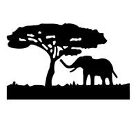 Stanzschablone Elefant Baum Weihnachten Hochzeit Geburtstag Oster Karte Album