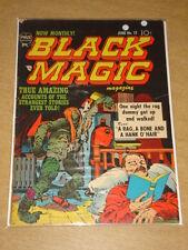 BLACK MAGIC VOL 2 #7 G (2.0) CRESTWOOD PRIZE COMICS JACK KIRBY JUNE 1952