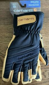 Carhartt A676 Men's Winter Dex II Insulated Cold Weather Gloves - Small