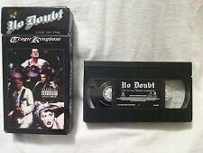 No Doubt - Live In The Tragic Kingdom (VHS, 1997) Gwen Stefani Rock n Roll Cali