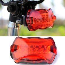5 LED Rücklicht Schwanz Sicherheit Sicherheit Blitzlicht MTB batterie Fahrrad