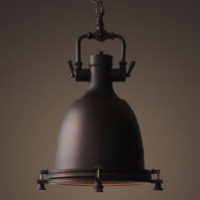 Black Chandelier Lighting Vintage Pendant Light Kitchen Ceiling Light Bar Lamp
