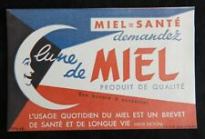 Bf// Pub ancienne Publicité LUNE DE MIEL (buvard 10.5 x 16 cm)