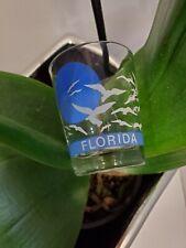 Collectible Florida Seagulls Sun Shot Schnap Glass Souvenir Vintage