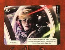 Heroic full art card promo Wave 2 Deluxe Kit X-Wing Miniatures Game Star Wars