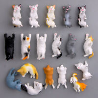 Lustige Cartoon Tiere Nette Katze KÜHLSCHRANKMAGNET Aufkleber Kühlschrank Heiß