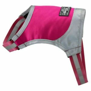 Hurrta Lifeguard Dog Micro Vest Pink and Grey.  Size XS Lightweight Waterproof