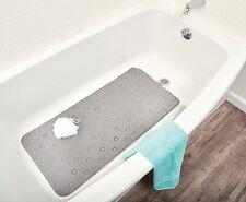 Non Slip Bath Non-Textured Tub Mat Anti Slip Extra Comfy Shower Square Mat Pad