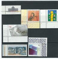 Germany SC # 2055,2077,2086,2088,2095,2100  Stamps are Mint never hinged.