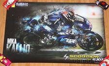 2015 Mika Kallio signed Scorpion EXO Kalex Moto2 poster